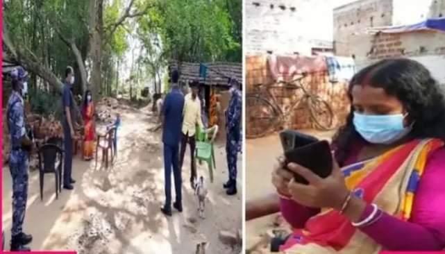 পশ্চিম বাংলার দরিদ্র তম বিধায়ক বাকুড়ার শালতোড়ার চন্দনা বাউড়ি
