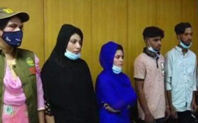 এবার রাজশাহীতে নারীসহ ৪ জন লাইকি তারকা গ্রেফতার