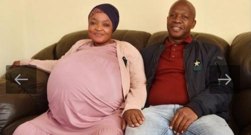এক সঙ্গে ১০ সন্তান জন্ম দিয়ে বিশ্ব রেকর্ড গড়েছেন দক্ষিণ আফ্রিকার এক নারী