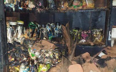 চাঁপাইনবাবগঞ্জের পুরাতন বাজারে স্বরণকালের ভয়াবহ অগ্নিকান্ড প্রায় ৩ ঘন্টার চেষ্টায় আগুন নিয়ন্ত্রণে