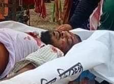 চাঁপাইনবাবগঞ্জের গোমস্তাপুরে সড়ক দুর্ঘটনায় পিতা নিহত ছেলে গুরুতর আহত