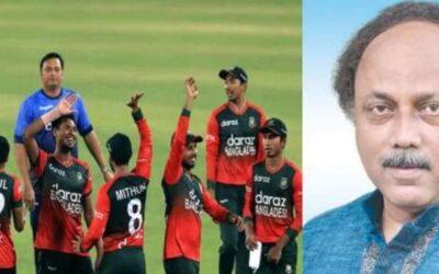 বাংলাদেশ ক্রিকেট দলকে অভিনন্দন জানিয়েছেন রাসিক মেয়র লিটন