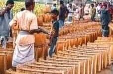 নওগাঁর আত্রাইয়ে হাট বাজার গুলোতে খলশানি বিক্রির ধুম
