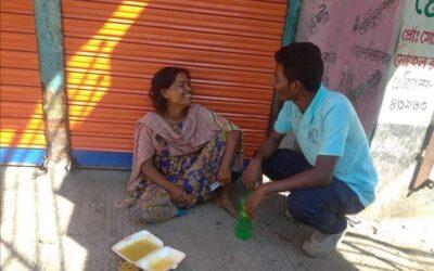 সিরাজগঞ্জের তাড়াশে মা হয়েছেন পাগলী বাবা কে